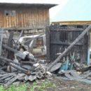 В Башкирии в одном из сел сгорело хозяйство