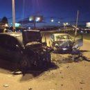 В Набережных Челнах водитель, уходя от патруля ДПС, выехал на «встречку» и врезался в авто (ФОТО)