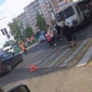Школьник на велосипеде попал под колеса автобуса в Саранске (ФОТО)