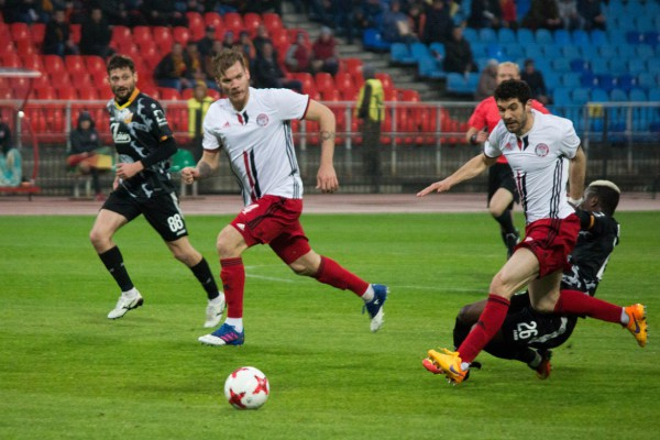 Фоторепортаж с матча «Арсенал»— «Амкар»