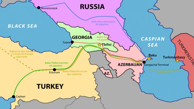 Транспортировка нефти по Баку-Тбилиси-Джейхан увеличилась на 31%