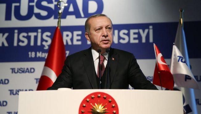 Эрдоган: «Мы никому не позволим топтать достоинство и честь турецкого народа»