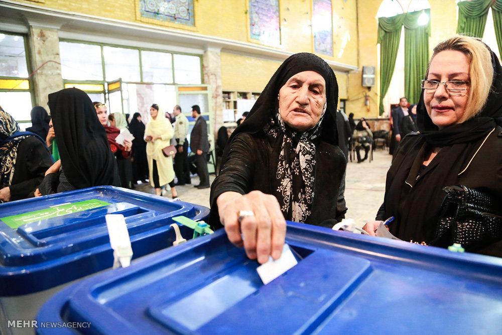 Выборы в Иране — ФОТОГАЛЕРЕЯ