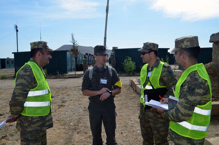 Азербайджанские военные приняли участие в учениях в рамках программы НАТО