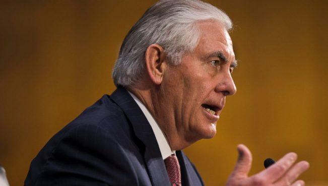 Тиллерсон:«США рассчитывают, что Роухани разорвет связи с террористическимигруппировками»