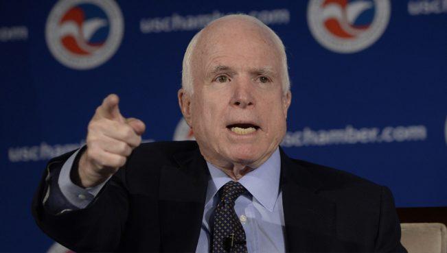 Маккейн:Лавров — марионетка головореза и убийцы — ВИДЕО