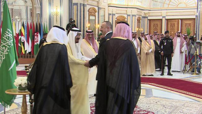 Ильхам Алиевпринял участие на Арабо-исламско-американском саммите — ФОТО