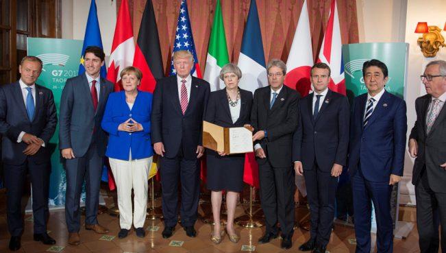Страны G7 договорились о сохранении санкций против России