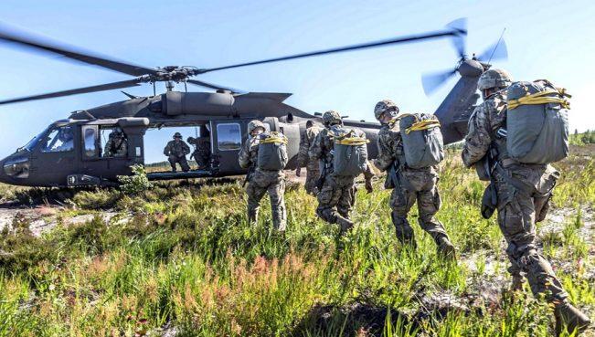 Близ границы с Россией стартоваливоенные учения НАТО