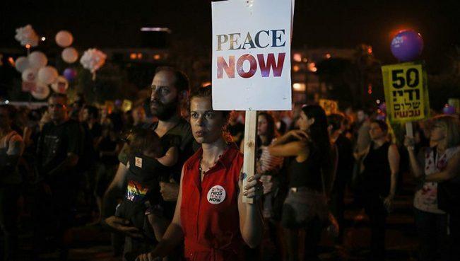 В Тель-Авиве прошел митинг противоккупацииВосточного Иерусалима