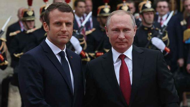 Итоги встречи Макрона и Путина
