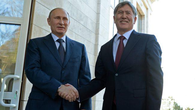 Кыргызский эксперт: «Властям Кыргызстана нужен российский патронаж»