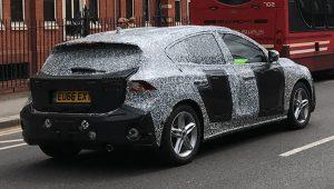 Новое поколение Ford Focus замечено на дорогах общего пользования