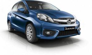 Honda вскоре представит новый бюджетный седан Amaze