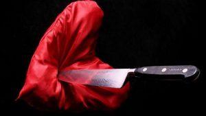 Из ревности сожителя порезала ножом