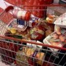 Жительница Ряжска спокойно вывезла тележку товаров из супермаркета