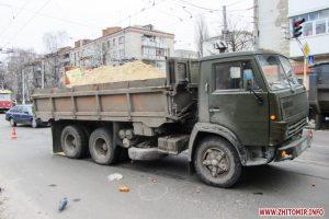 Белгородец отправился на разборки на угнанном грузовике с песком