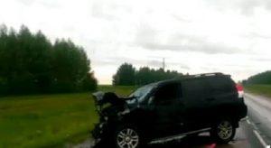 В Чистопольском районе после ДТП сгорел Renault Duster, погиб человек