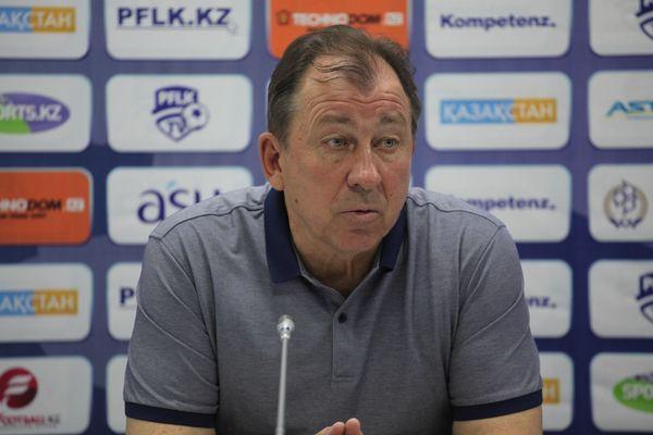 «Атырау» Сергея Павлова не справился с лидером чемпионата Казахстана