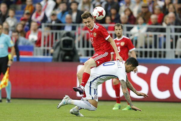 Сборная России сыграла вничью с Чили, Габулов остался в запасе