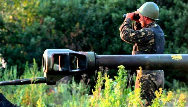 ВС Азербайджана уничтожили огневую точку армян — Видео