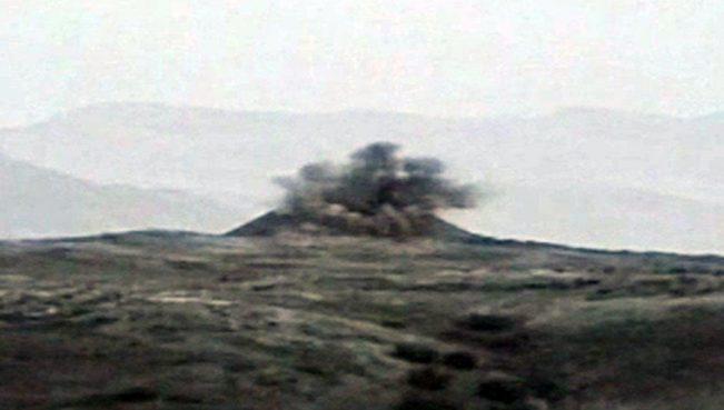 Уничтожены два военных объекта вооруженных сил Армении – ВИДЕО