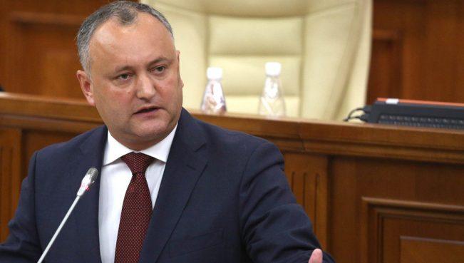 Додон назвал правительство антироссийским — политический кризис в Молдове