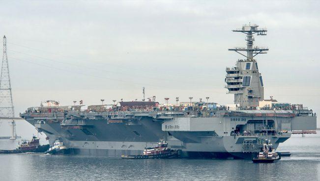 США приняли на вооружение самый дорогой военный корабль в мире