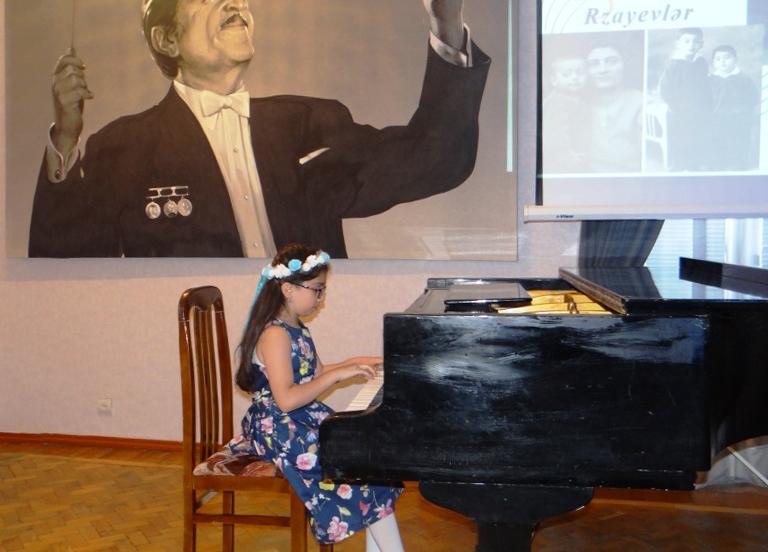 В Баку прошло мероприятие «Дети в музыке» — ФОТО