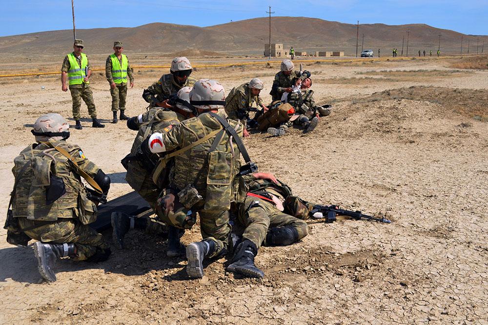 Завершилось оценочное учениеНАТО с мотострелковым батальоном ВC Азербайджана
