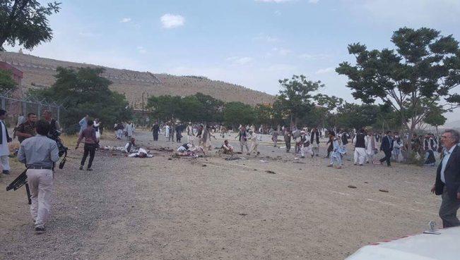 На кладбище в Кабуле прогремели три взрыва:погибли более20 человек