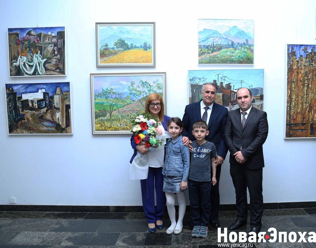 В Баку открылась юбилейная выставка Раиса Расулзаде – ФОТОСЕССИЯ