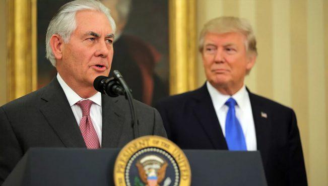 Трамп назначил Тиллерсона посредником на переговорах по Катару