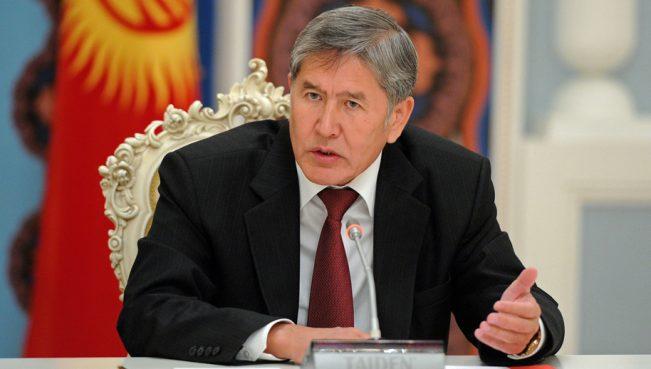 Атамбаев:«Темные силы вКыргызстане пытаются нагнетать межэтническую обстановку»