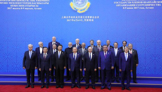 Индия и Пакистан стали членами ШОС
