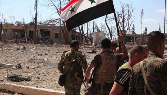В Генштабе России заявили о фактической остановке гражданской войны в Сирии