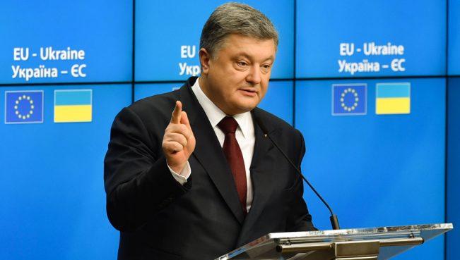 Порошенко: «Никто нас не собьет с пути — Украина войдет в НАТО и ЕС»