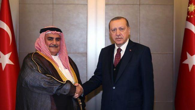 Арабские монархи отправили главу МИД Бахрейна к Эрдогану: «Не мешайте свергнуть Ат-Тани»