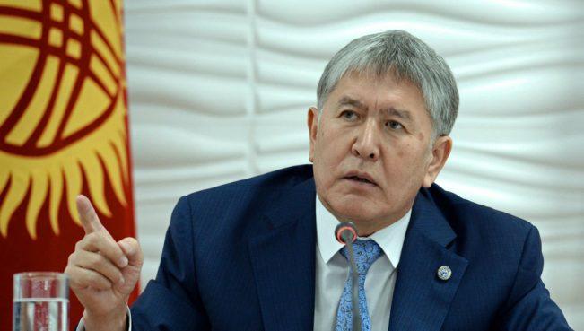 Атамбаев назвал кыргызских политиков и журналистов дерьмом — ВИДЕО
