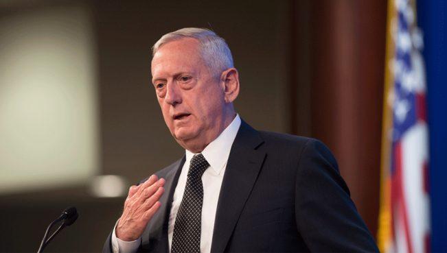 Мэттис:«Путин решил стать стратегическим конкурентом США»