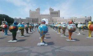 Казахстану пришлось объясняться из-за карты Крыма в составе России — ФОТО