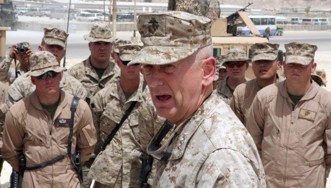 Мэттис шокирован низкой боеготовностью американской армии