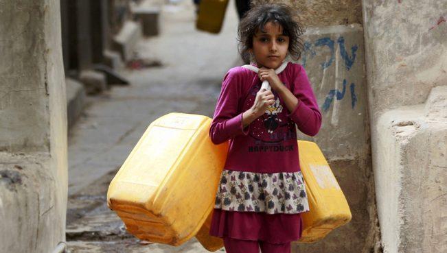 Население Йемена борется с голодом и холерой