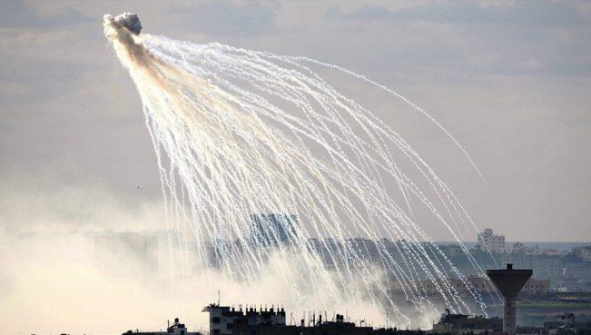 HRW: США применяла в Сирии и Ираке фосфорные бомбы
