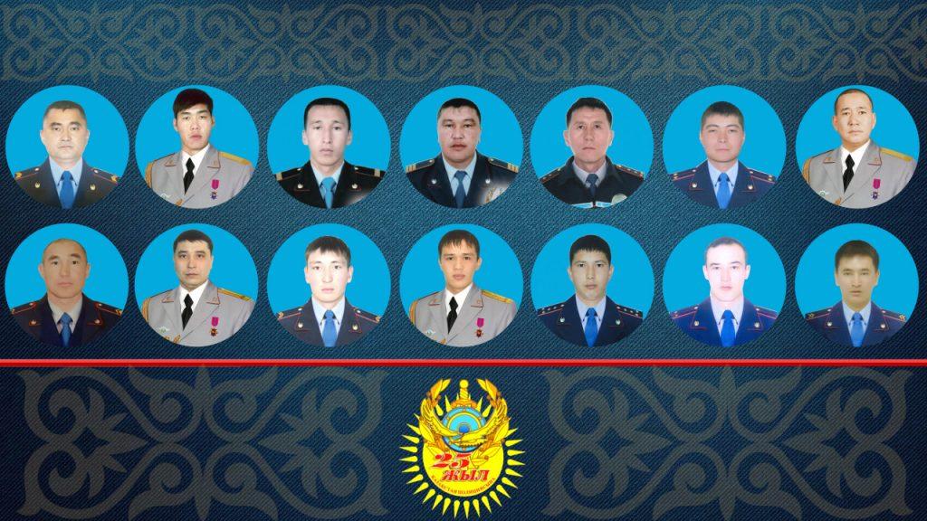 25-летие Национальной полиции Казахстана