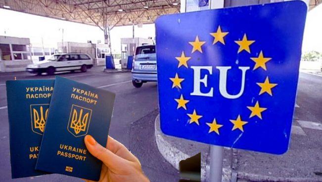 С момента введения безвиза границу со странами ЕС пересекли 441 тысяча граждан Украины