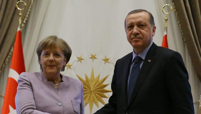 Эрдоган посетит Германию