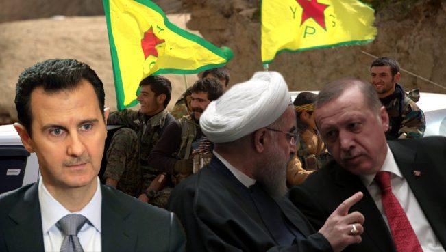 Российский эксперт: «Позиции Турции, Ирана и Сирии совпадают по курдскому вопросу»