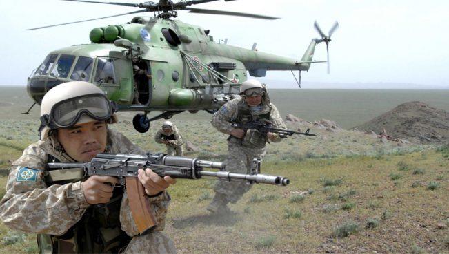 Россия предложила отправить в Сирию военных Киргизии и Казахстана