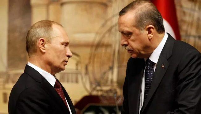 Путин и Эрдоган обсудили «Турецкий поток»